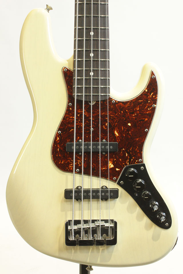 Master Build Series Custom Classic Jazz Bass by Jason Smith White Blond 2009