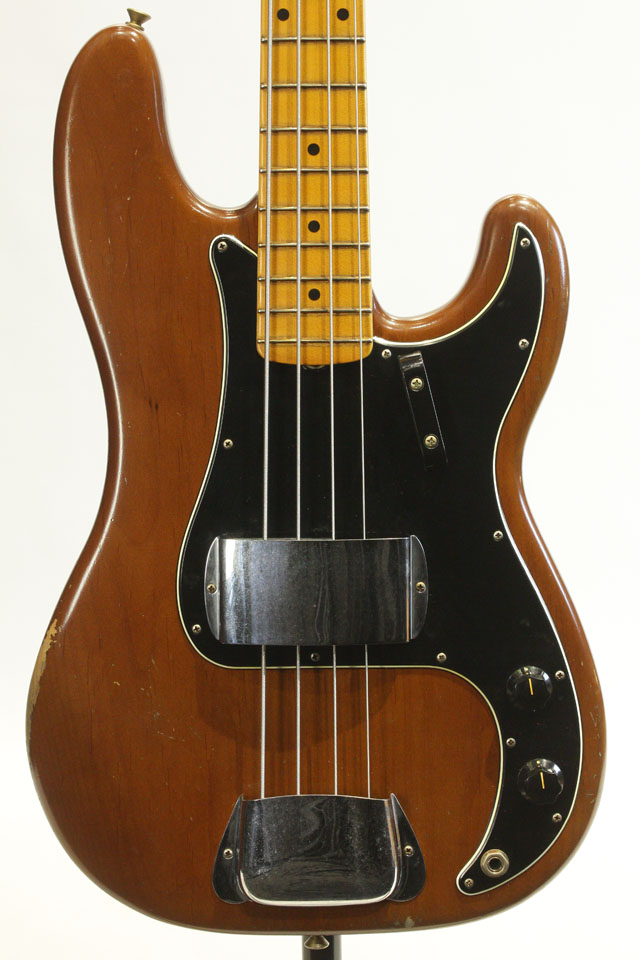 Master Build Serieas 1970s Precision Bass Relic Mocha Brown by Carlos Lopez