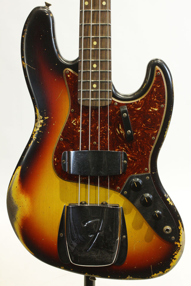2021 Custom Collection 1961 Jazz Bass Heavy Relic 3TSB