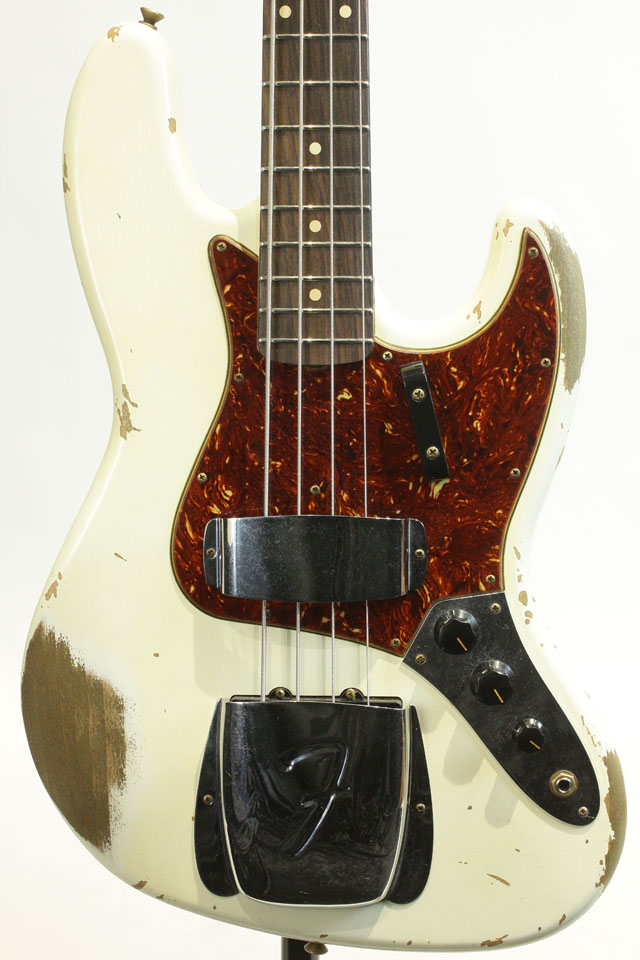 2021 Custom Collection 1961 Jazz Bass Heavy Relic AOWL