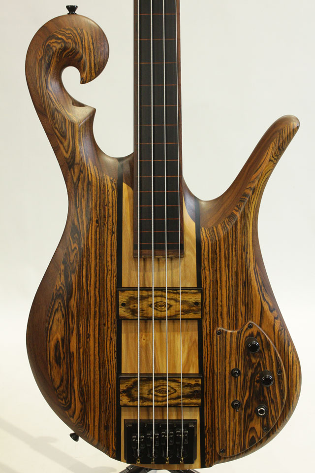 4strings Scroll Bass 38inch Fretless