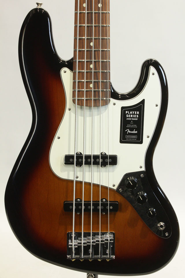 Player Jazz Bass V PF 3TSB