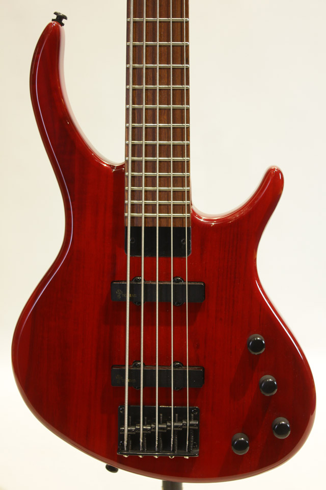 Toby Deluxe-V Bass Gloss Trans Red