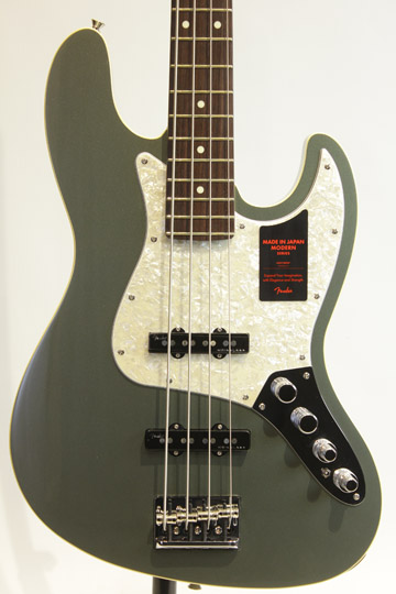 Made in Japan MODERN JAZZ BASS (Jasper Olive Metallic)