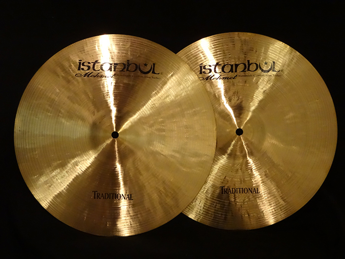 "Mehmet Trditional 14"" Medium Hi-hats 1049g,1241g"