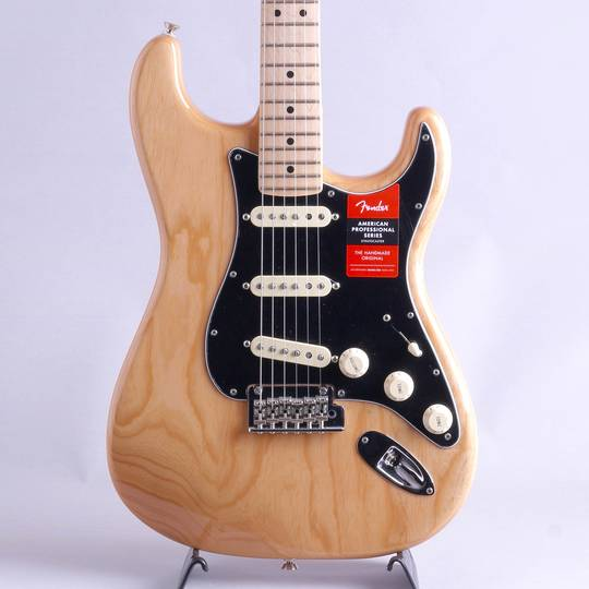 American Professional Stratocaster Natural/M【S/N:US19061516】