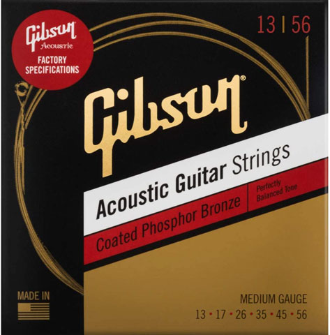 SAG-CPB13 Coated Phosphor Bronze Acoustic Guitar Strings [Medium]