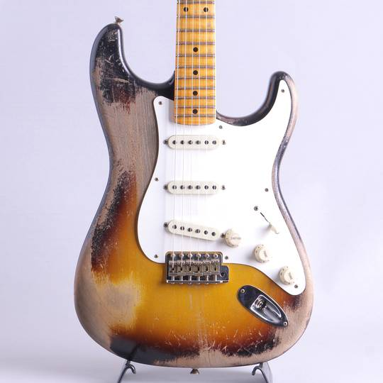 MBS 1957 Stratocaster Heavy Relic 2-Color Sunburst Built by Kyle Mcmillin