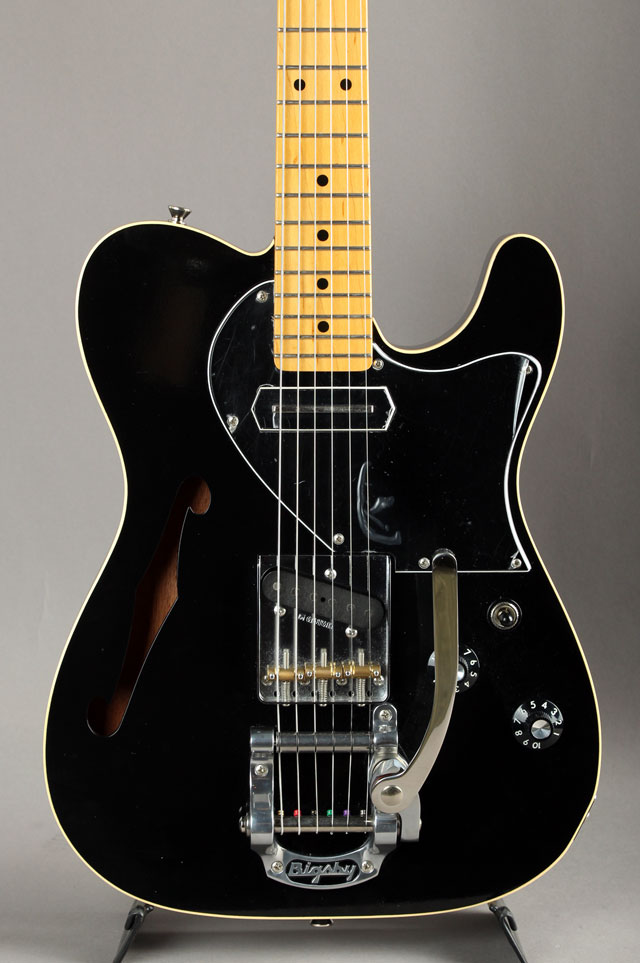 KNTE Thinline Black w/Bigsby B5 & Lollar C.C.Pickup