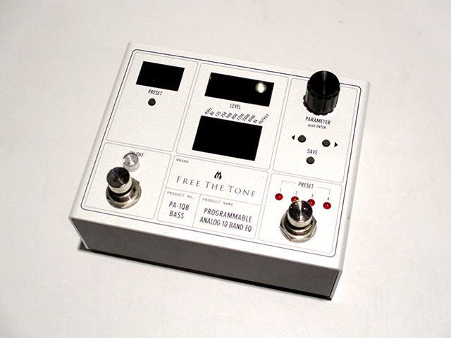 PA-1QB PROGRAMMABLE ANALOG 10 BAND EQ