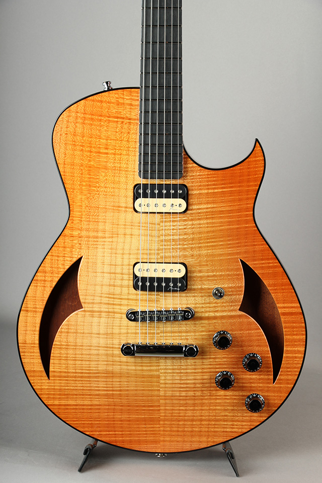 Semi Hollow Figured Maple/Mahogany/59 Burst