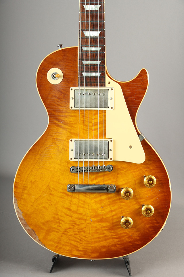 1959 Les Paul Hand Select HRM Top Ultra Aged Bella Donna Burst