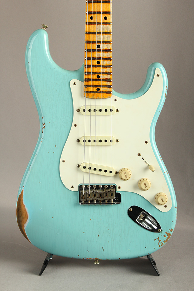 Time Machine Series 1959 Stratocaster Heavy Relic Aged Daphne Blue