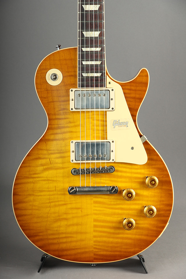 Historic Collection 1958 Les Paul Hand Select Top VOS Golden Poppy Burst S/N:891024