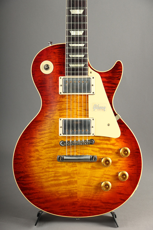 60th Anniversary 1959 Les Paul Standard Murphy Painted Wide Cherry Sunburst VG#9 1453