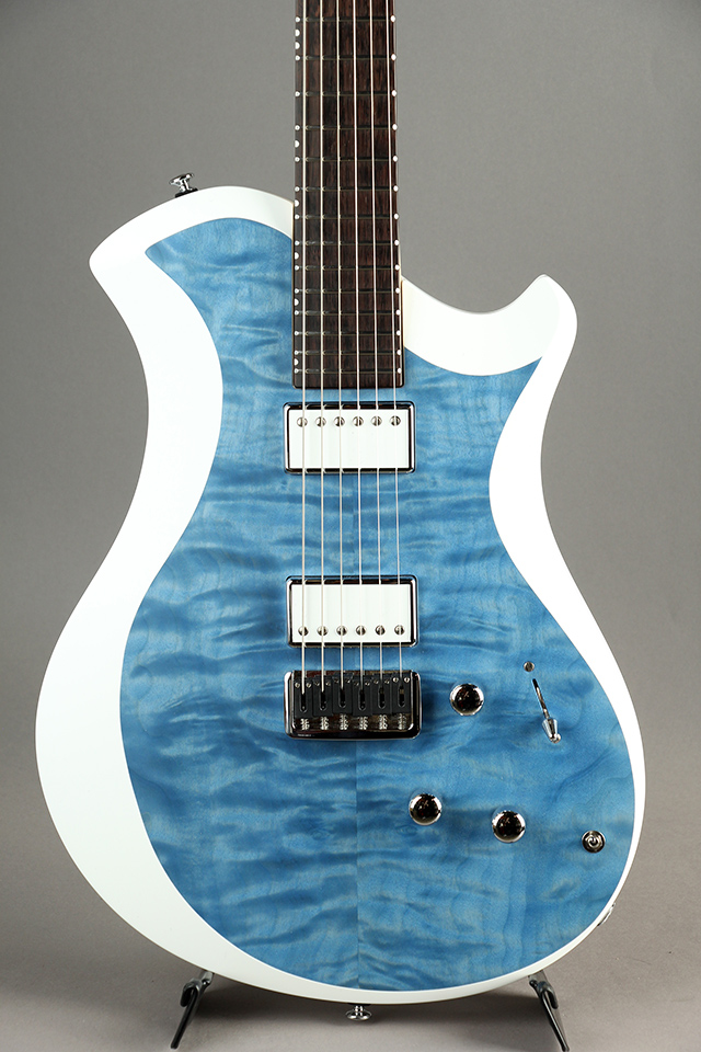 MARY ONE Quilted Maple / Blue / White Edge 【S/N:190160】