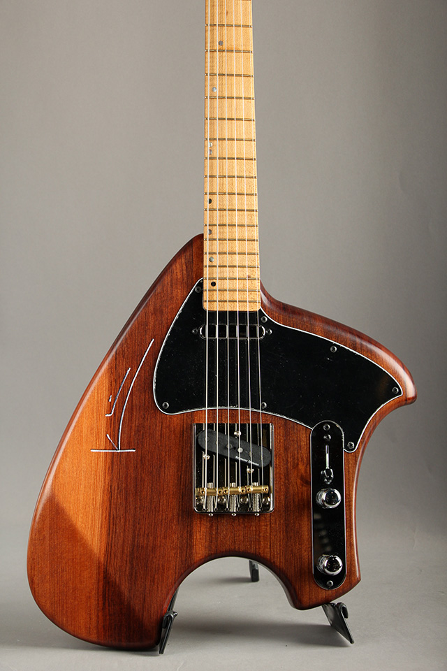 S Tele Sinker RedWood Body / Flamed Torrefied Maple Neck