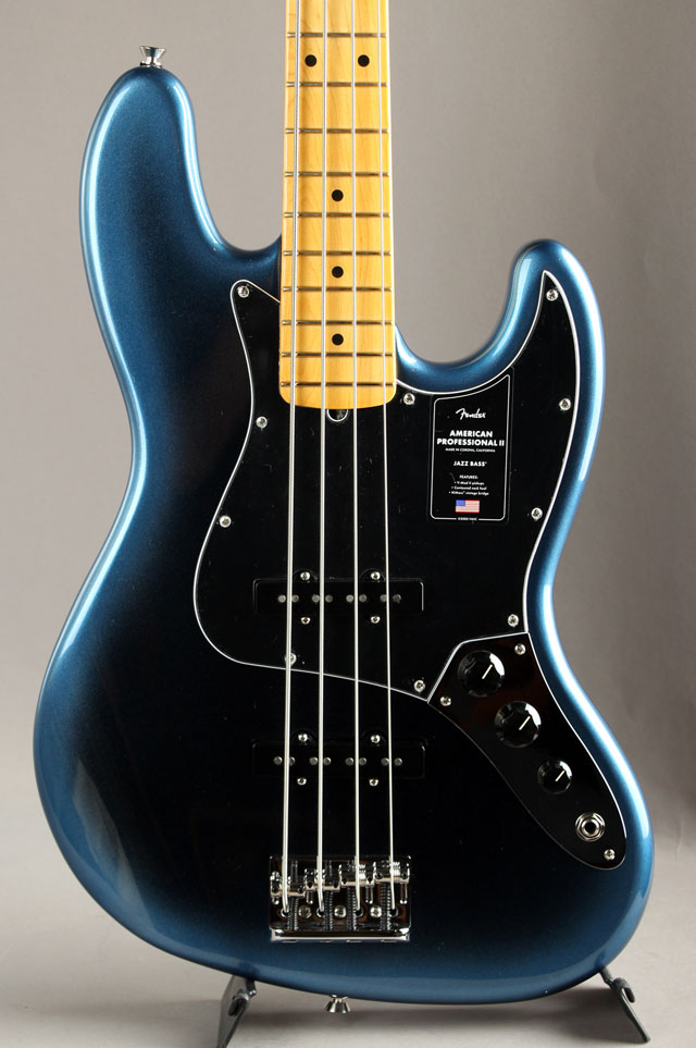 American Professional II Jazz Bass Dark Night