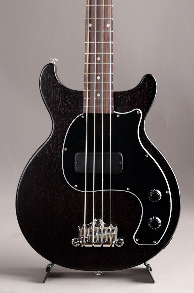 Les Paul Junior Tribute DC Bass Worn Ebony