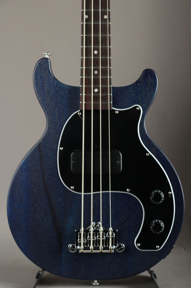 Les Paul Junior Tribute DC Bass Blue Satin