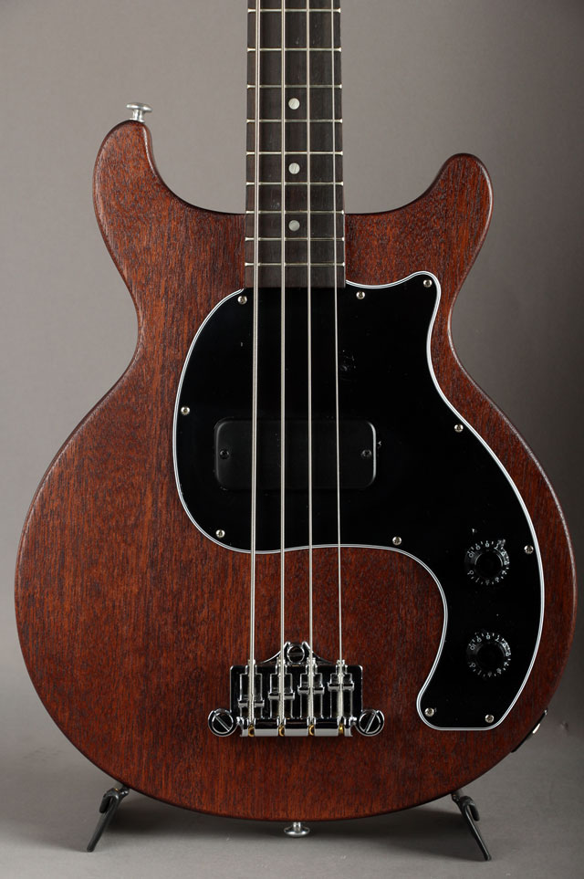 Les Paul Junior Tribute DC Bass Worn Brown