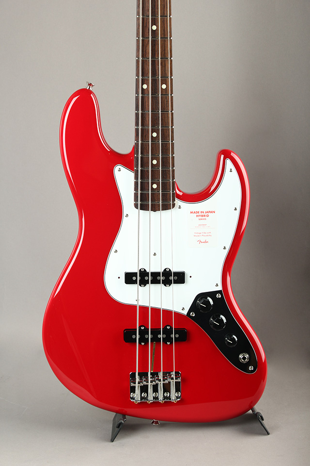 Made in Japan Hybrid 60s Jazz Bass Torino Red