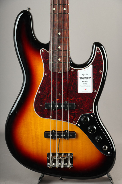 Made In Japan Traditional 60s Jazz Bass 3CS