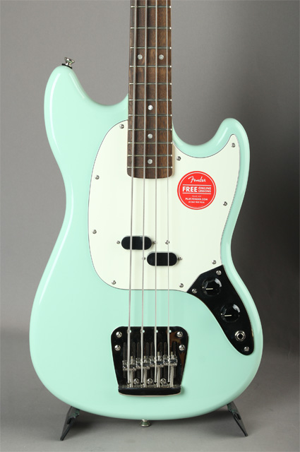 Classic Vibe '60s Mustang Bass Surf Green