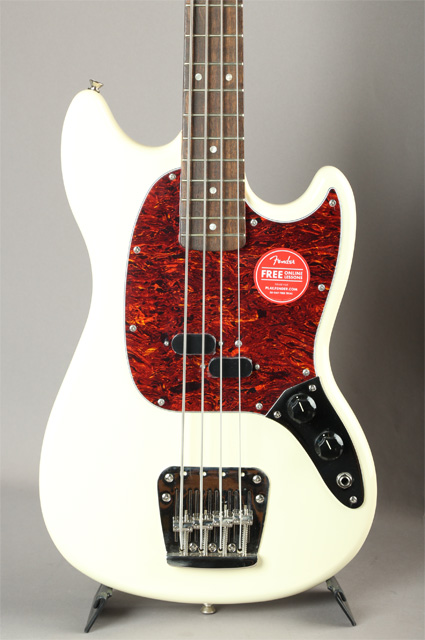 Classic Vibe '60s Mustang Bass Olympic White
