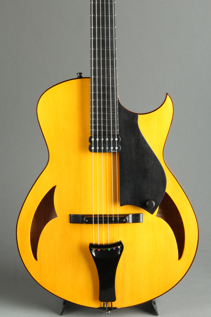 15 inch Archtop Blond Shellac Finish