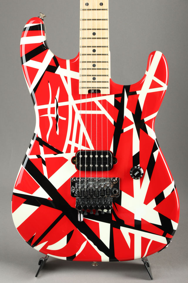 Striped Series Red with Black Stripes