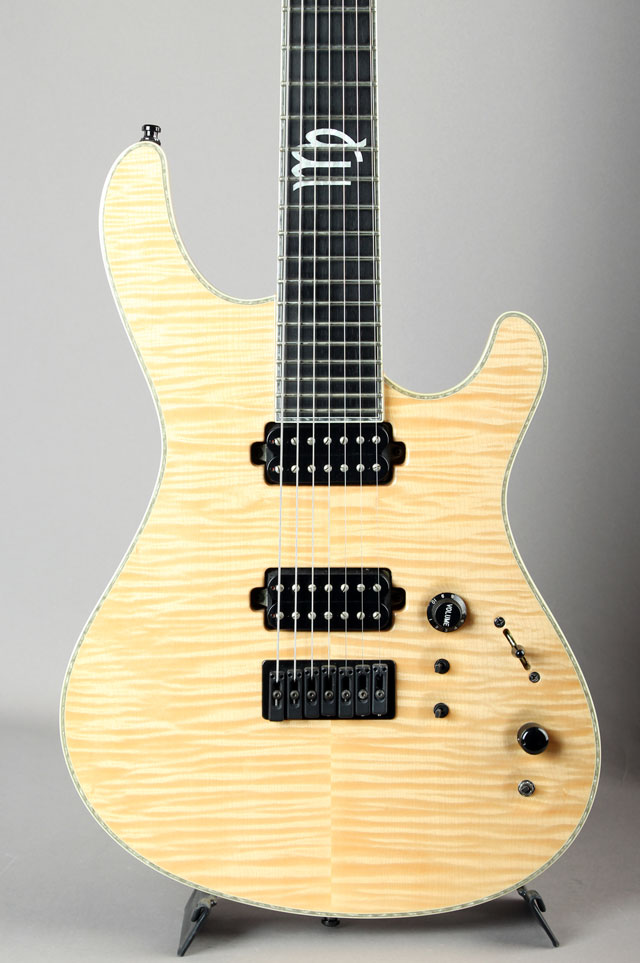 Regius 7 Flame Maple Top with Piezo
