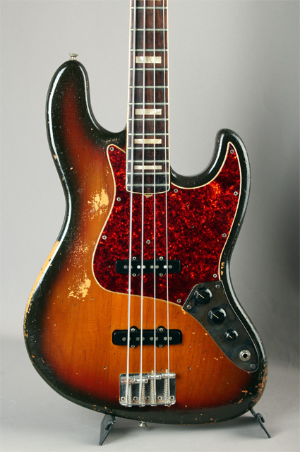 1973 Jazz Bass Sunburst