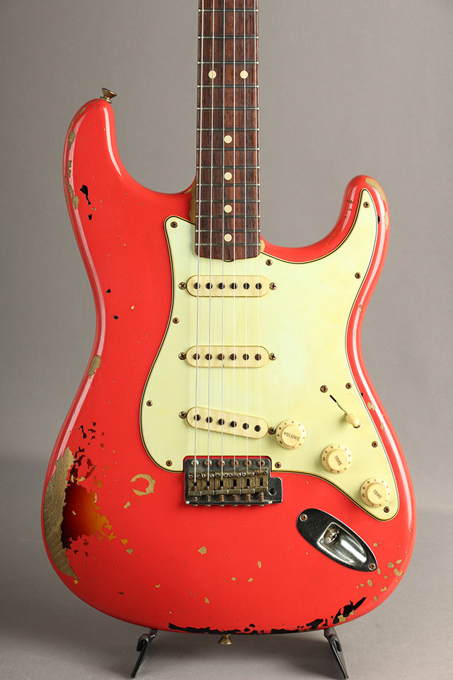 Michael Landau Signature 1963 Stratocaster Relic Fiesta Red over 3CS
