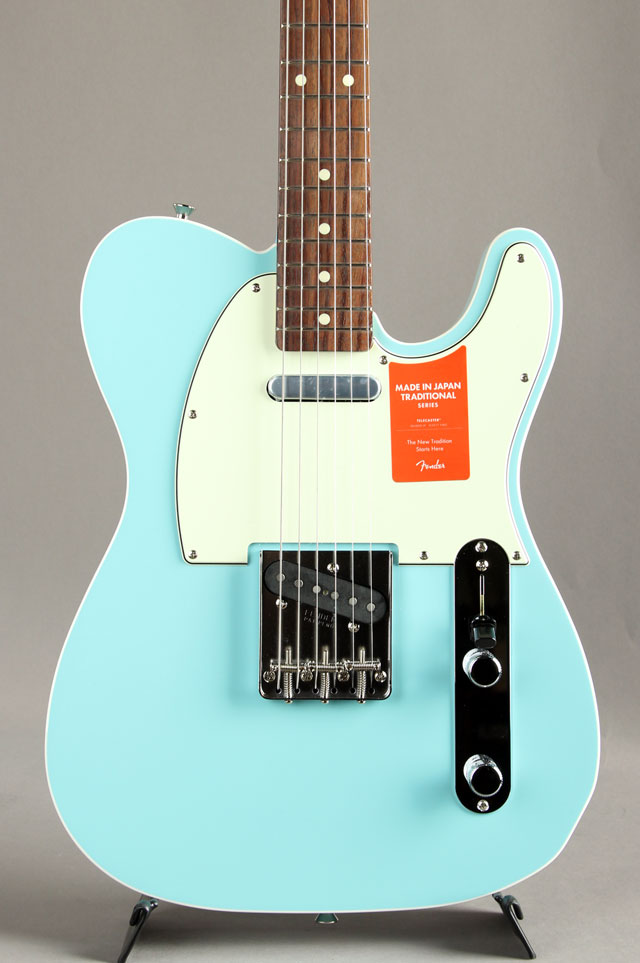 Made In Japan Traditional 60s Telecaster Custom Daphne Blue
