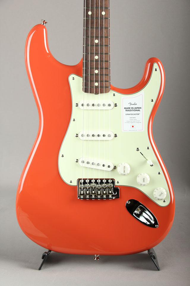 Made in Japan Traditional 60s Stratocaster Fiesta Red