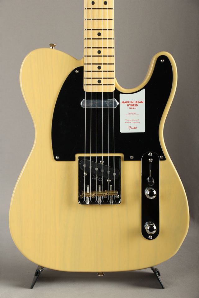 Made in Japan Hybrid 50s Telecaster Off-White Blonde