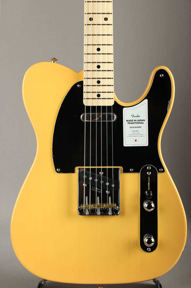 Made in Japan Traditional 50s Telecaster Butterscotch Blonde