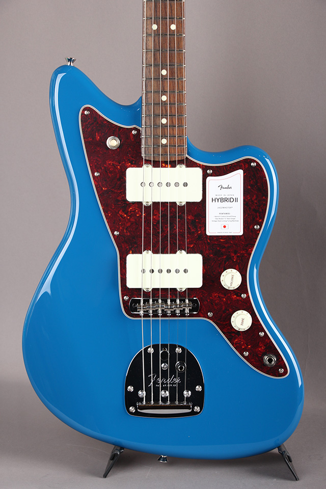 Made in Japan Hybrid II Jazzmaster Forest Blue