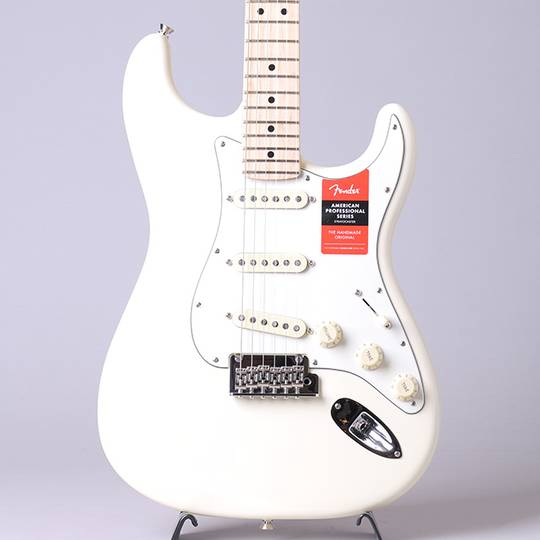 American Professional Stratocaster/Olympic White/M【S/N:US19060949】