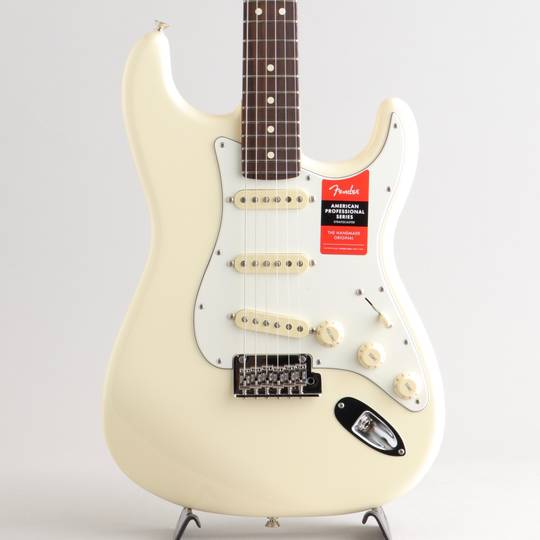 American Professional Stratocaster Olympic White/R【S/N:US20010931】