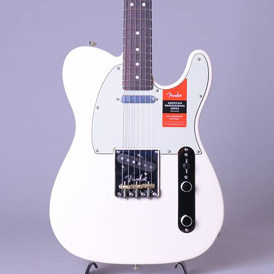 American Professional Telecaster/Olympic White/R【S/N:US19089933】