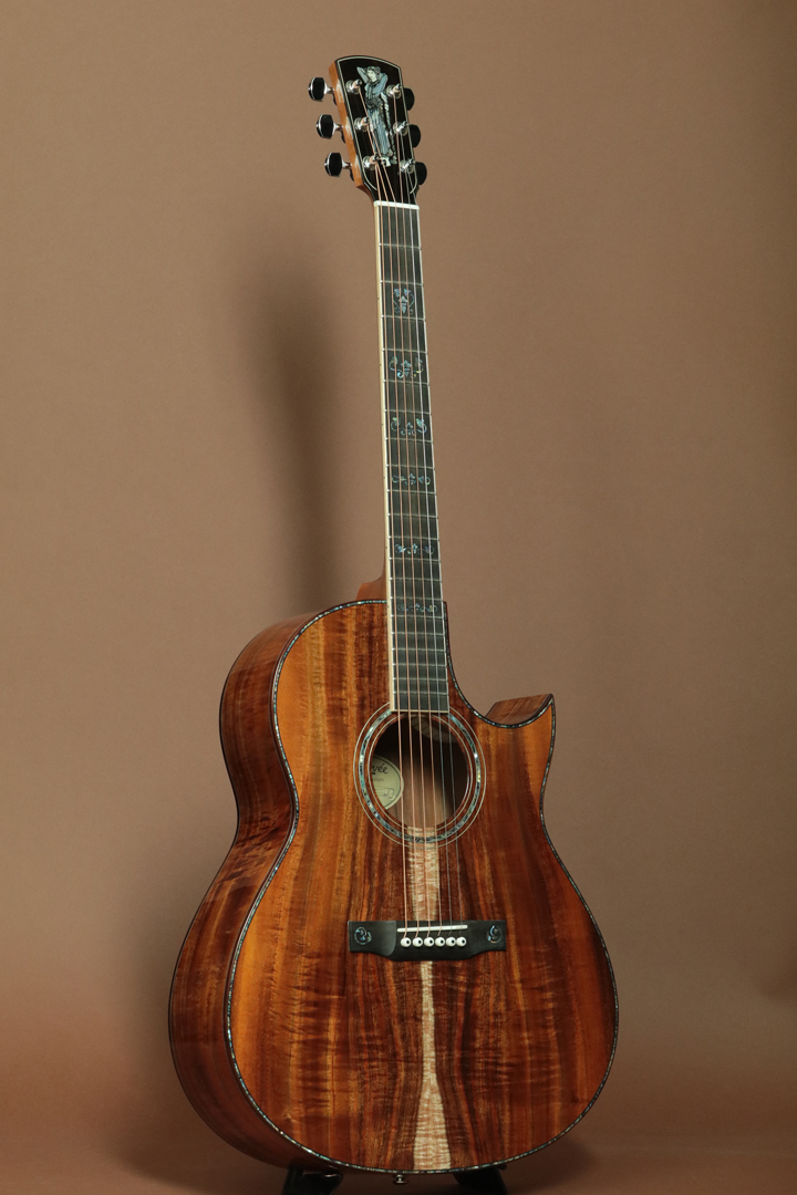 C-10 Cutaway Custom All Koa ROSE LADY