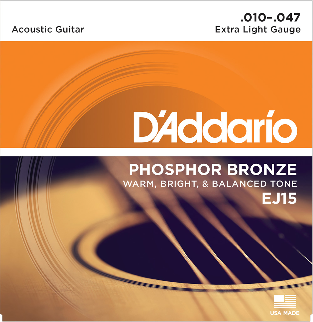 EJ15 Phosphor Bronze Extra Light[10-47]