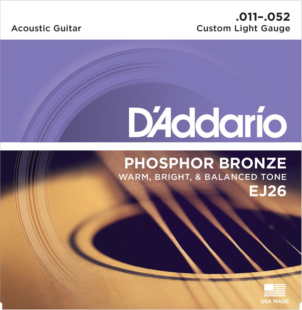 EJ26 Phosphor Bronze Custom Light[11-52]