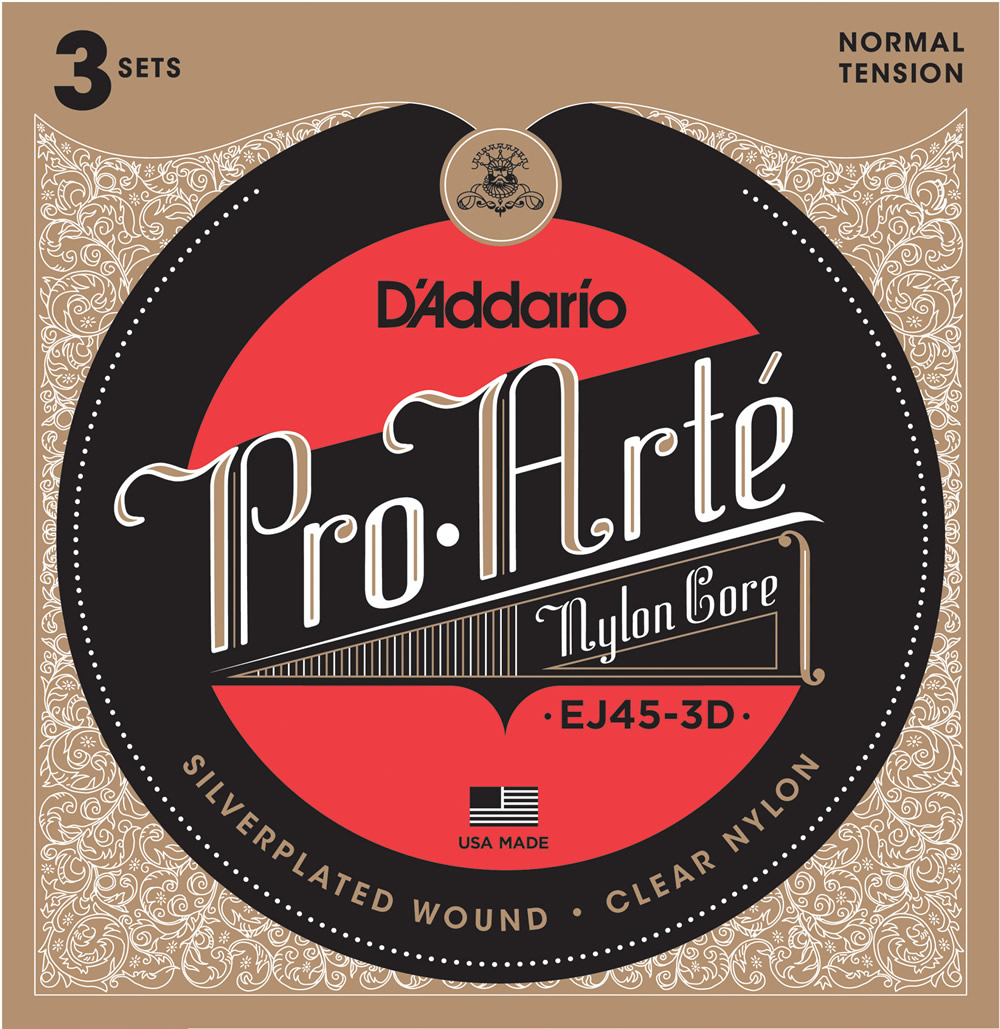 EJ45-3D Pro-Arté NYLON[Normal Tension]3-Pack