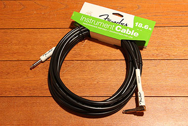 Performance Series Instrument Cables (Straight-Right Angle) 18.6ft/5.5m
