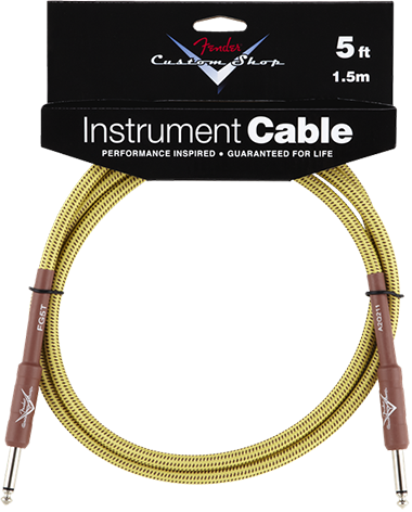 Performance Series Cable (Straight-Straight Angle) 5ft/1.5m Tweed