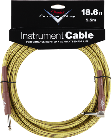 Performance Series Cable (Straight-Right Angle) 18.6ft/5.5m Tweed