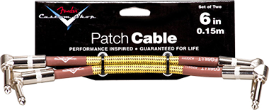 Performance Series Cable Pach Cable 6in/0.15m 2P Tweed